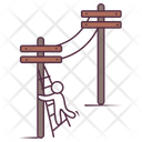 Network Poles Communicational Poles Network Towers Icon