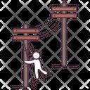 Network Poles Icon
