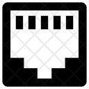 Network Socket Broadband Network Network Port Icon
