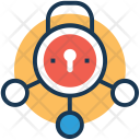 Network Protection Lock Icon