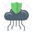 Network Protection Data Icon