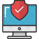 Network Firewall Protected Icon