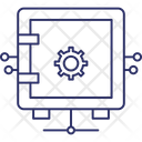 Network Safe Locker Icon