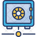 Network Secure Vault Icon