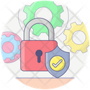 Network Security Protected Network Protection Management Icon