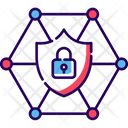 Network Security Cybersecurity Network Protection Icon