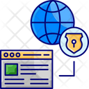 Network Securitym Network Security Internet Security Icon
