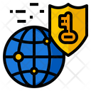 Network Security Data Icon