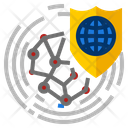 Network Protection Security Icon
