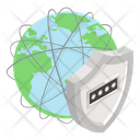 Network Security Network Protection Global Network Icon