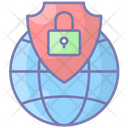Network Security Protection Internet Icon