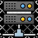 Database Data Server Data Center Icon