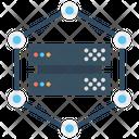 Network Server Database Electron Icon