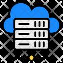 Network Server Server Hosting Cloud Server Icon