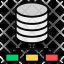 Network Server Server Hosting Data Infrastructure Icon