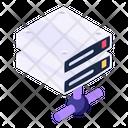 Network Server Server Hosting Server Rack Icon
