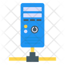 Central Processing Unit Network Server System Server Icon