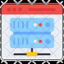 Network Server Data Server Hardware Server Icon