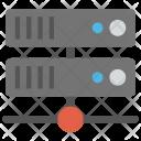 Data Hosting Storage Icon