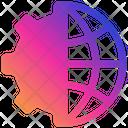 Network Setting Setting Configuration Icon