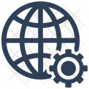 Network Global Solution Icon