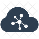 Cloud Computing Connection Network Icon