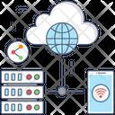 Data Exchange Network Sharing Lan Network Icon