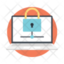 Network Security Laptop Icon