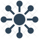 Big Data Sharing Network Icon