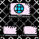 Network Sharing Internet Network Lan Network Icon