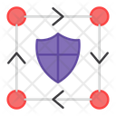 Network Shield Network Protection Secure Network Icon