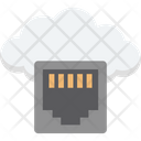 Network Socket Broadband Network Port Icon