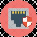 Network socket shield Icon