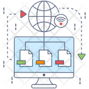 Network Structure Icon
