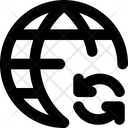 Internet Network Sync Icon