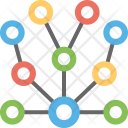 Network Connection Tree Icon