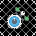 Network Graph Hierarchy Icon