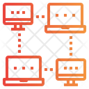 Network Workflow Access Icon