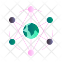 Networking Connection World Connection Icon