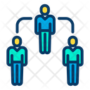 Hierarchy Team Working Team Icon