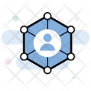 Communication Networking Network Nodes Icon