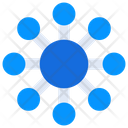 Networking Connections Nodes Icon
