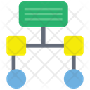 Networking Workflow Programming Process Icon