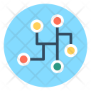 Networking Workflow Programming Icon