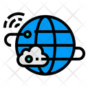 Cloud Internet Electronics Icon