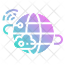 Cloud Internet Electronics Icon