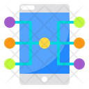 Smartphone Networking Connection Icon