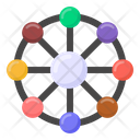 Connection Networking Affiliate Networking Icon