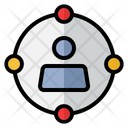 Networking People Connecting Icon