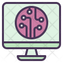 Computing Technology System Icon